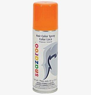 orange sprayfärg hår
